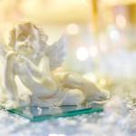 Ангелочек. Свадебный декоп